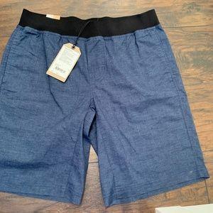 Prana Shorts Men's Vaha Dark Blue